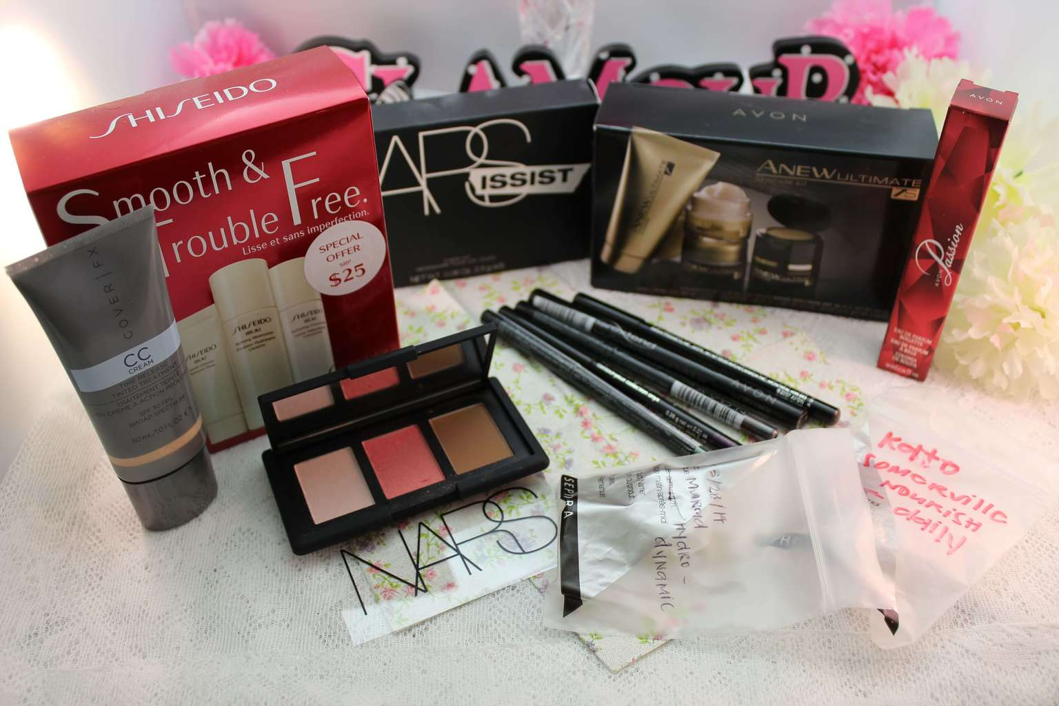 Beth and Beauty's Random Beauty Haul: Sephora, Nordstrom and Avon!